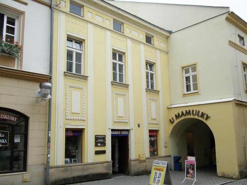Ekonomia v.o.s. sídlo firmy Valašské Meziříčí
